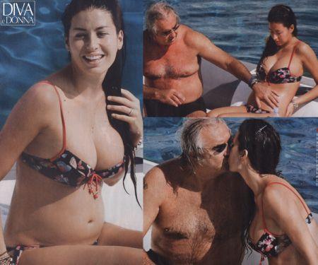 Elisabetta gregoraci naked #11
